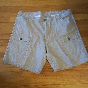 Tasso Elba Island linen blend shorts